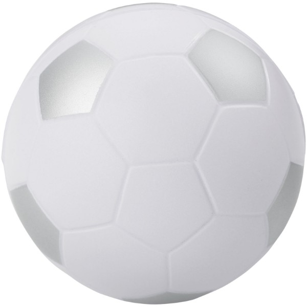 Football stress reliever - White / Silver