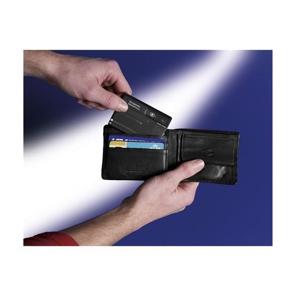 Victorinox Swisscard Quattro - Transparent Black