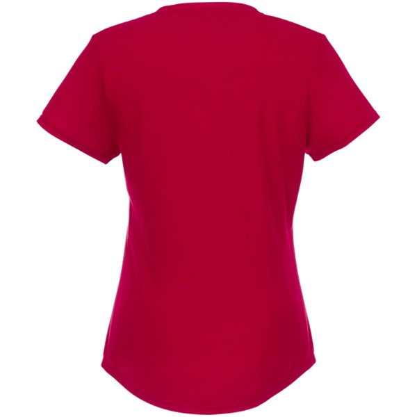 Jade short sleeve women's GRS recycled t-shirt - Red / S