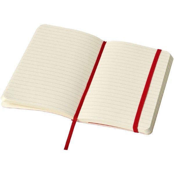 Classic PK soft cover notebook - ruled - Scarlet red