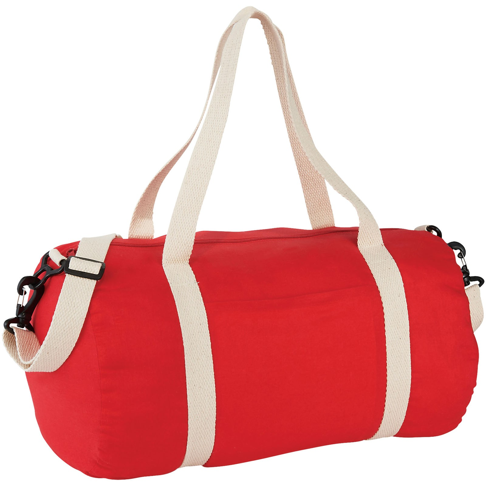 Cochichuate cotton barrel duffel bag - Red