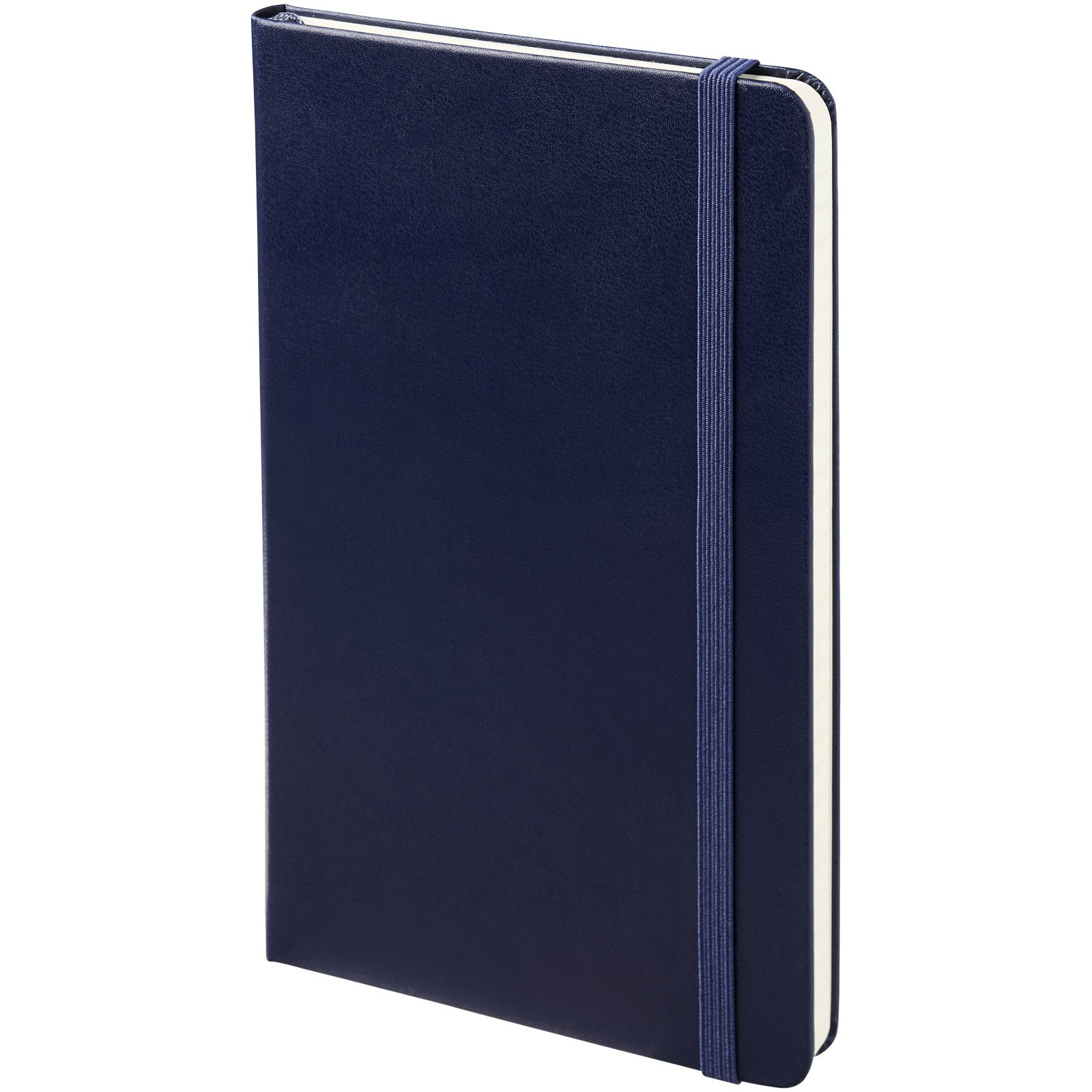Classic M hard cover notebook - ruled - Prussian Blue