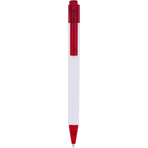 Kuličkové pero Calypso - Červená s efektem námrazy