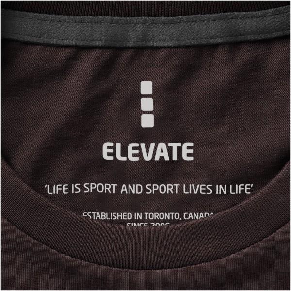 Nanaimo short sleeve men's t-shirt - Chocolate Brown / XL
