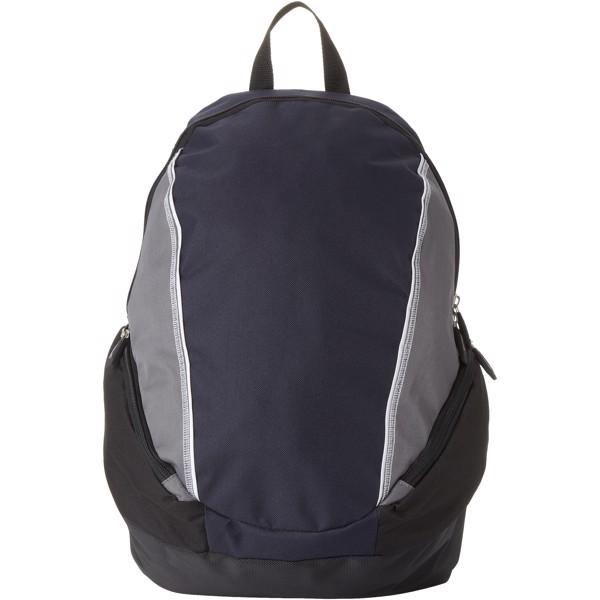"Brisbane 15.4"" laptop backpack - Navy / Grey"