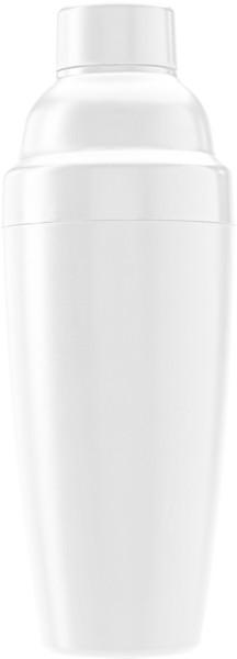 Plastic cocktail shaker.