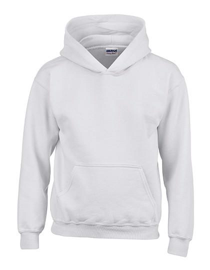 Heavy Blend™ Youth Hooded Sweatshirt - White / XS