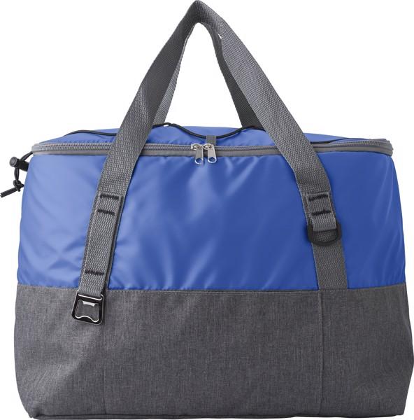 Polycanvas (600D) cooler bag - Cobalt Blue