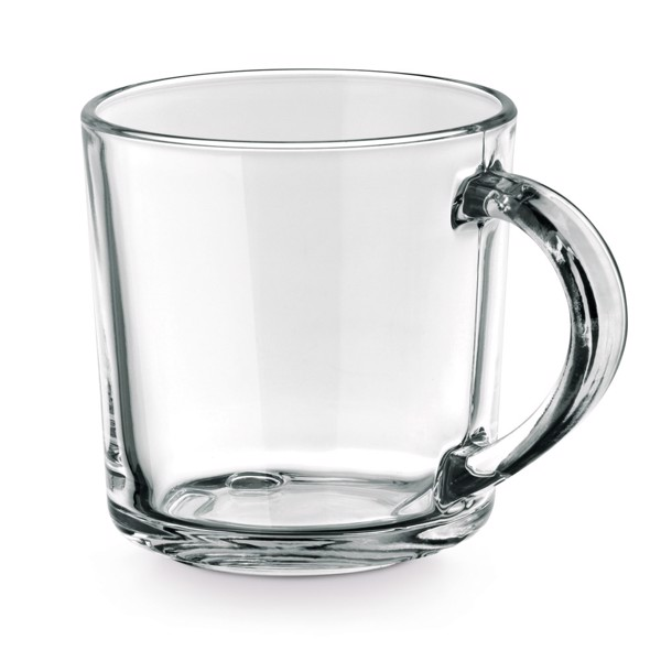 SOFFY. Glass mug 280 ml