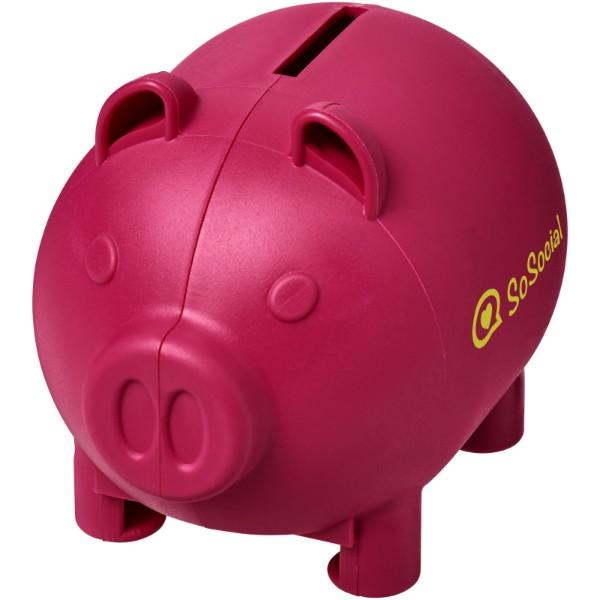 Malé prasátko na peníze Oink - Magenta