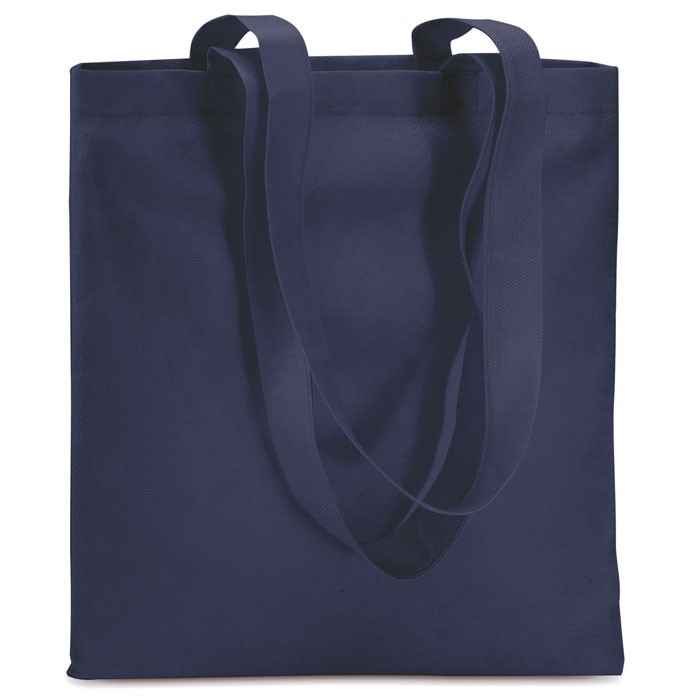 80gr/m² nonwoven shopping bag Totecolor - Blue
