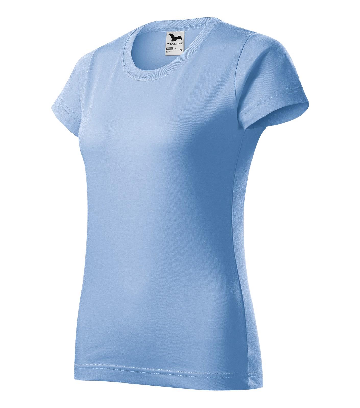 T-shirt women's Malfini Basic - Sky Blue / L