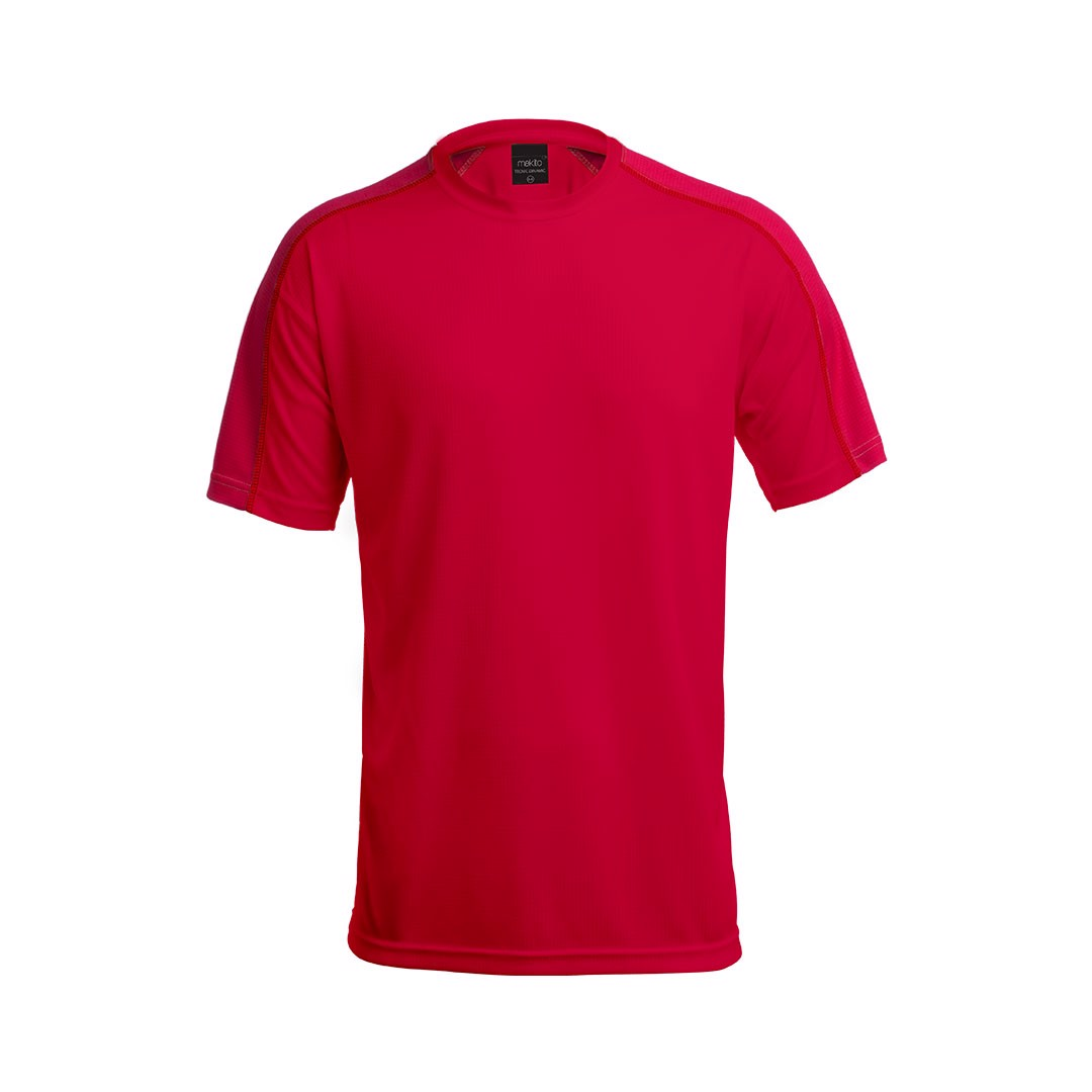 T-Shirt Adulto Tecnic Dinamic - Vermelho / M