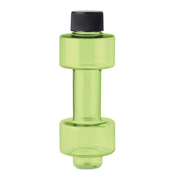 PET weights bottle 500ml Peso Bottle - Transparent Lime