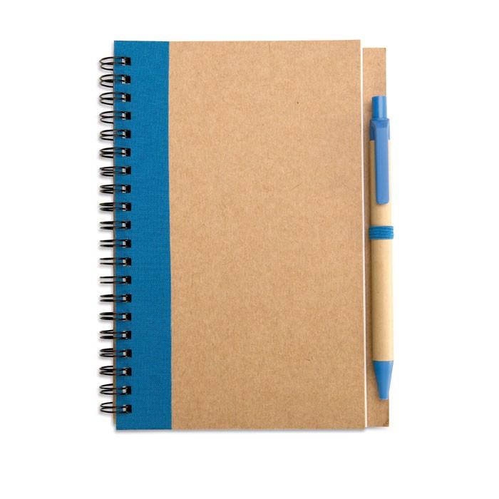 Notes z długopisem Sonora Plus - granatowy