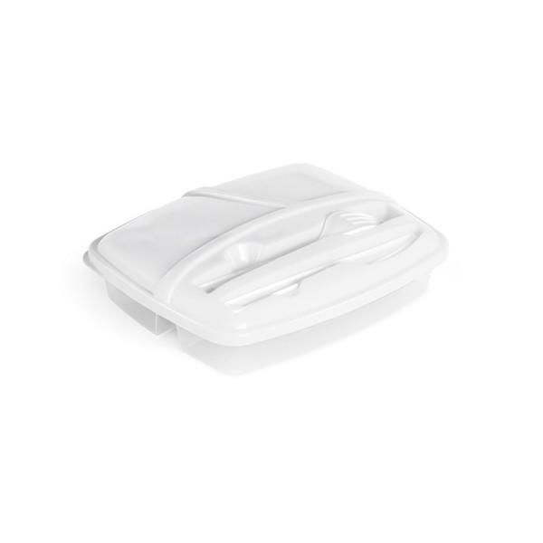 MATTIE. Airtight food container 1000 ml - White