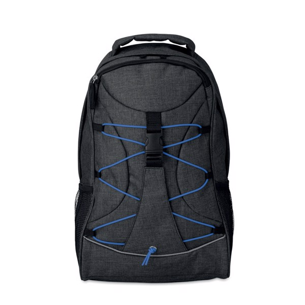Glow in the dark backpack Glow Monte Lema - Royal Blue