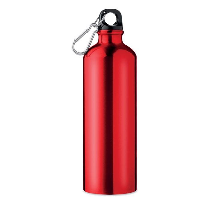 Butelka aluminiowa Big Moss - czerwony