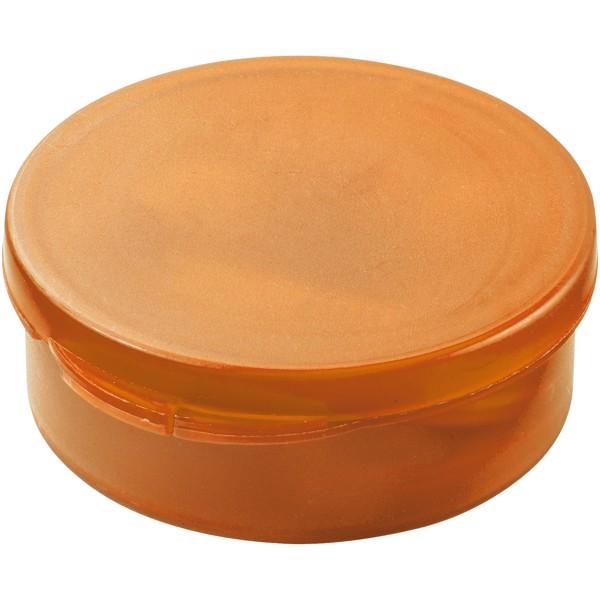 Sluchátka Versa - Transparentní oranžová / Bílá
