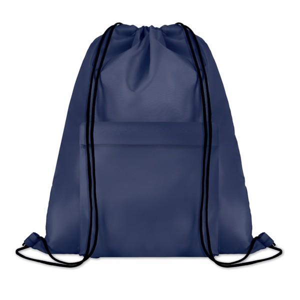 Large drawstring bag Pocket Shoop - Blue