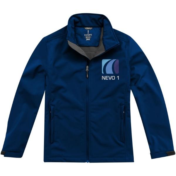 Maxson men's softshell jacket - Navy / L