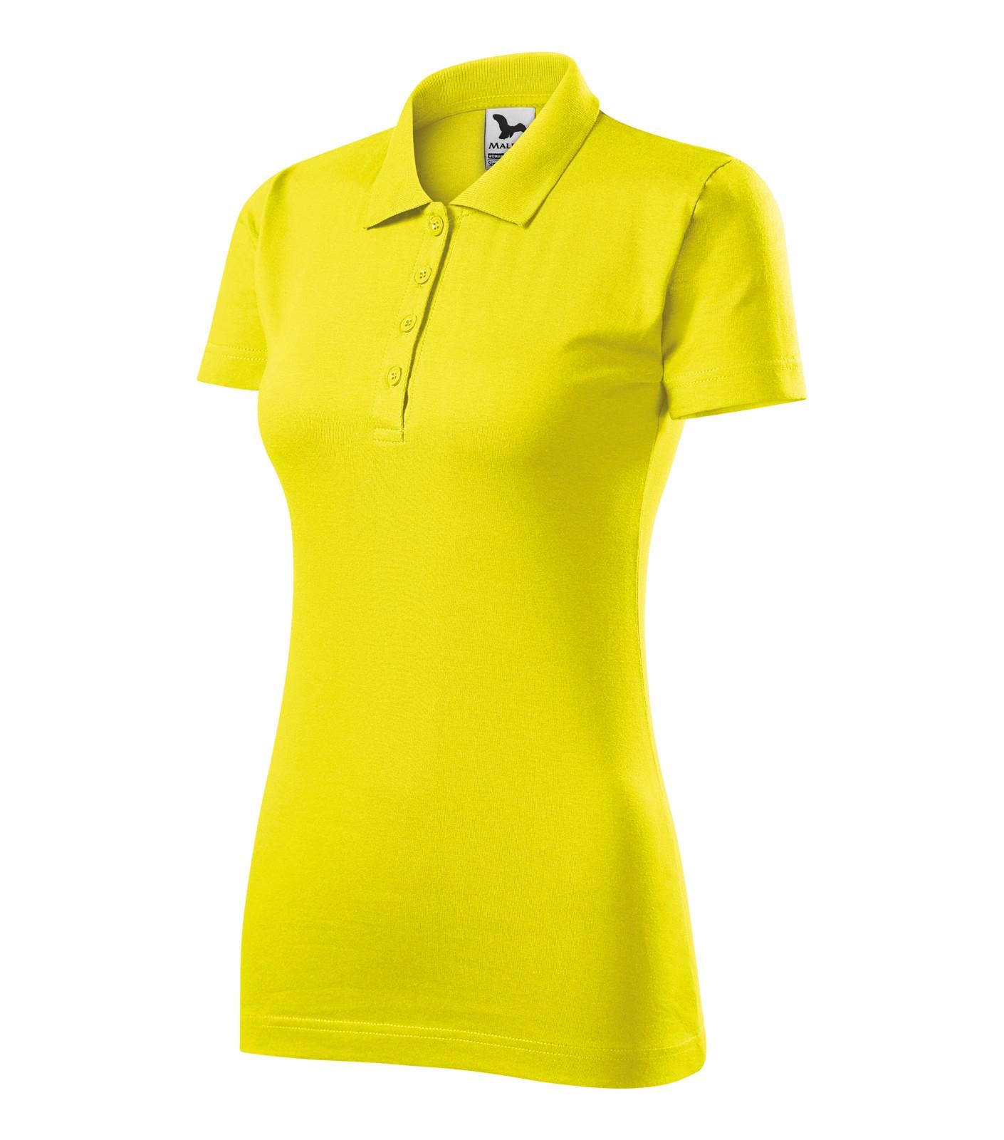 Polo Shirt Ladies Malfini Single J. - Lemon / S
