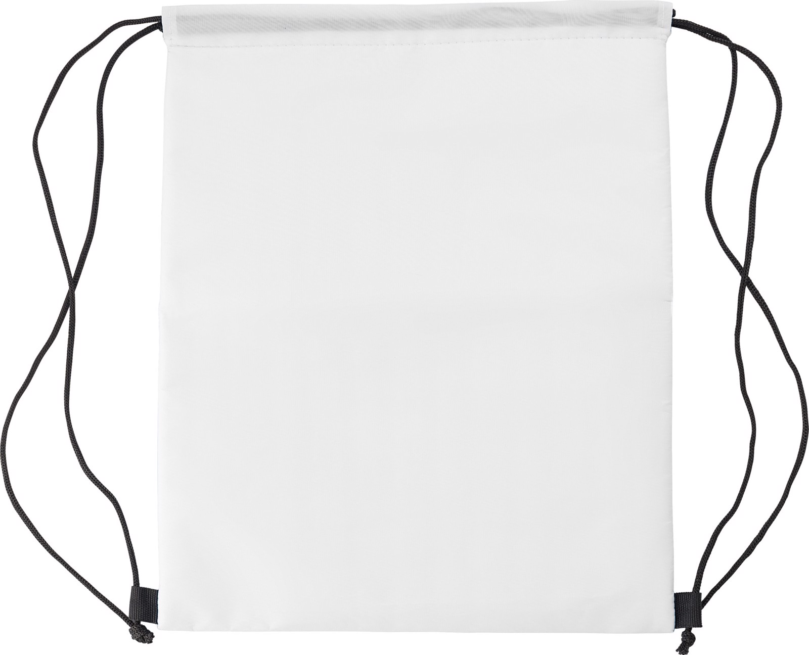 Polyester (210D) cooler bag - White