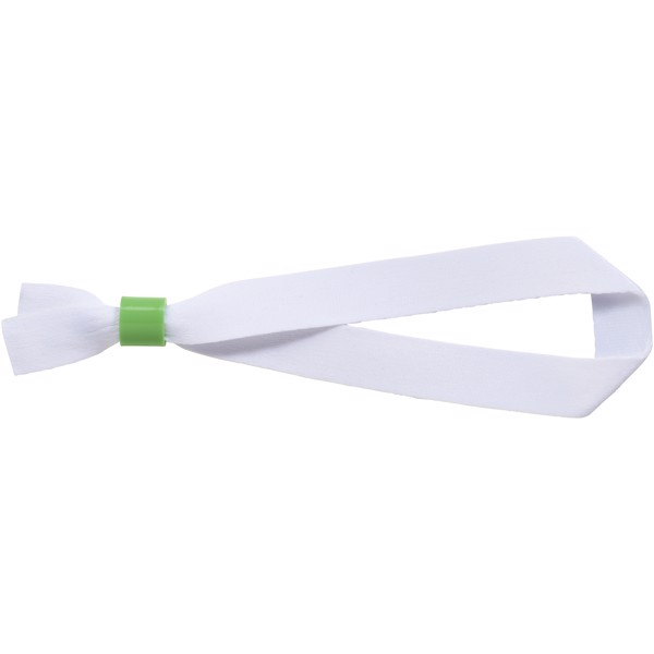 El recycled PET festival bracelet - Green