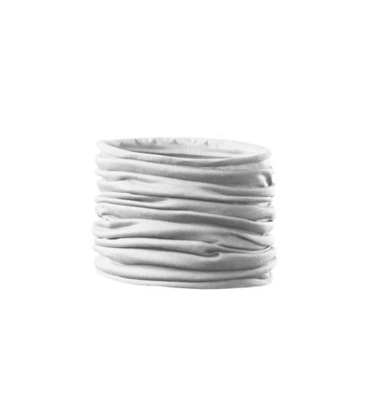Scarf unisex/kids Malfini Twister - White / uni