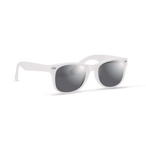 Sunglasses with UV protection America - White