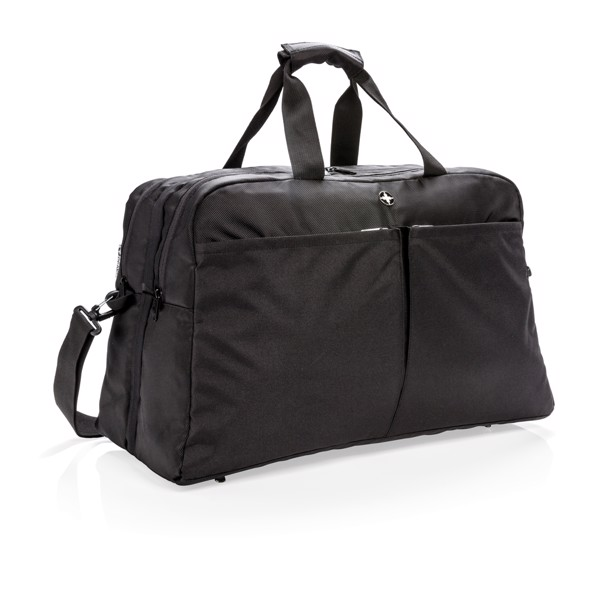 Swiss Peak RFID taška s otevíráním na způsob kufru