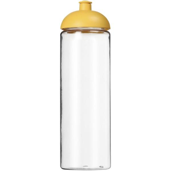 H2O Vibe 850 ml sportovní lahev s kupolovitým víčkem - Průhledná / Žlutá