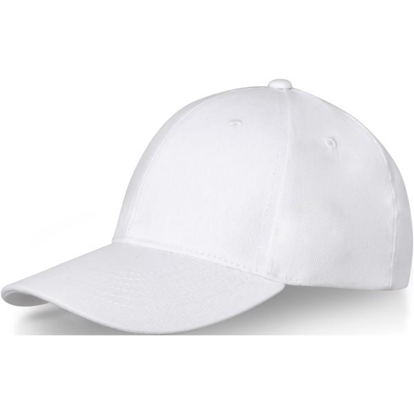 Davis 6 panel cap - White