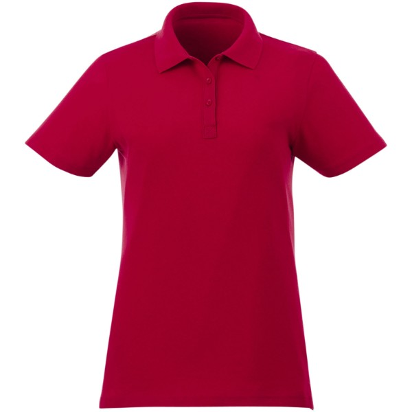 Liberty short sleeve women's polo - Red / S