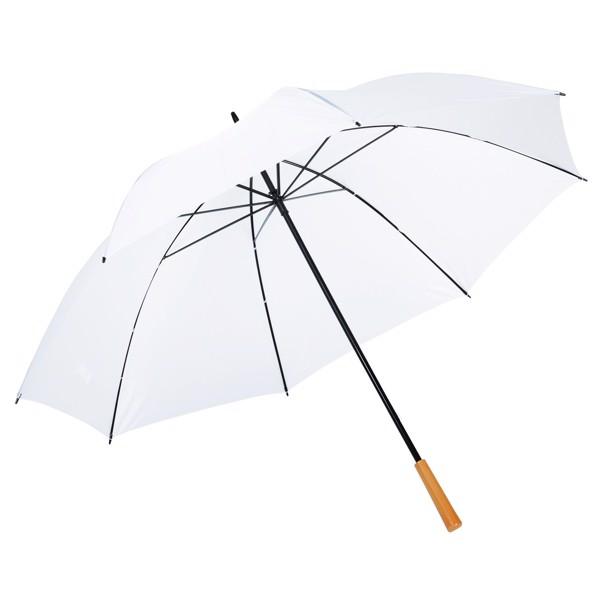 Golfový Deštník Raindrops / Bílá