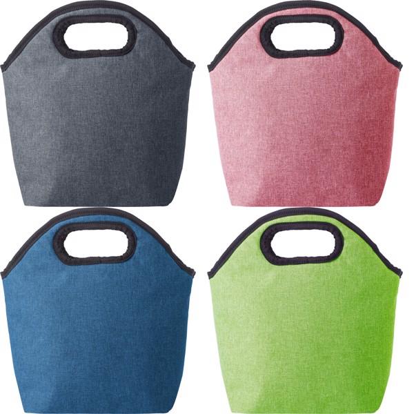 Polycanvas (600D) cooler bag - Lime