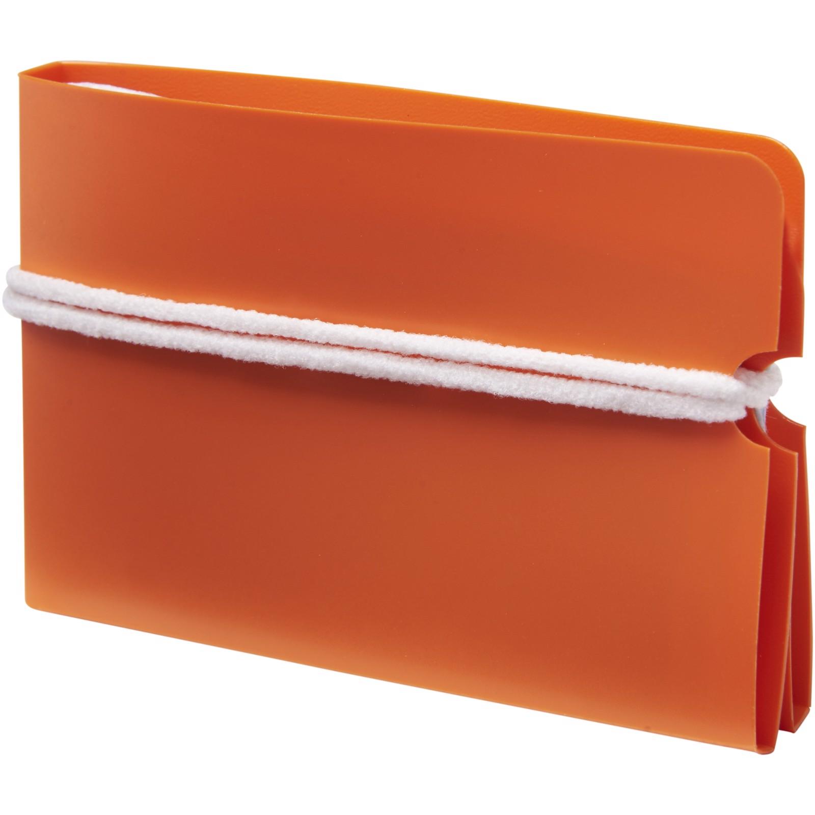 Madden fold-up face mask wallet - Orange