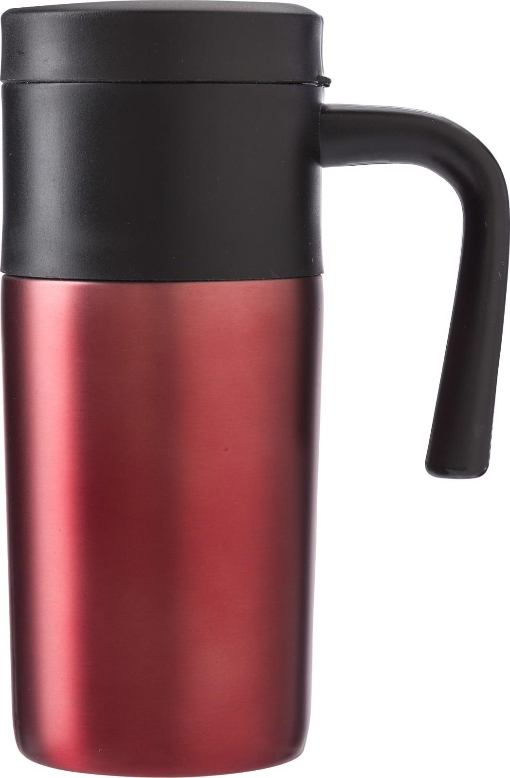 Stainless steel mug - Red