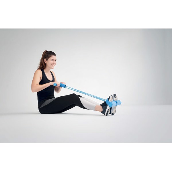Pedal ankle puller pull rope