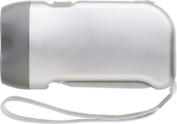 ABS dynamo torch - Silver