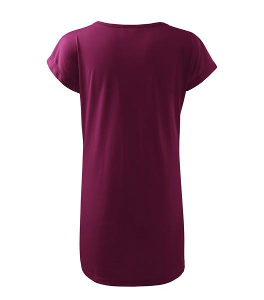 Tričko/šaty dámské Malfini Love - Fuchsiová / XS