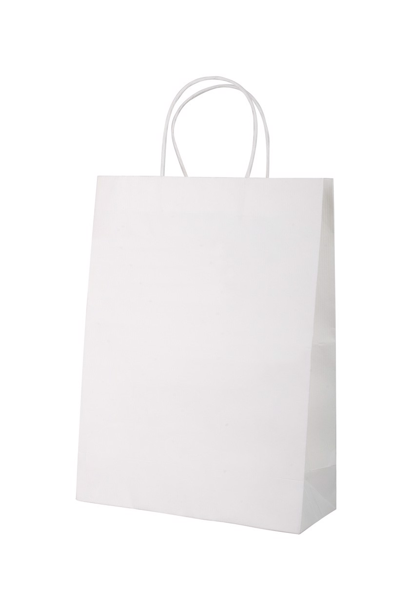 Paper Bag Mall - White