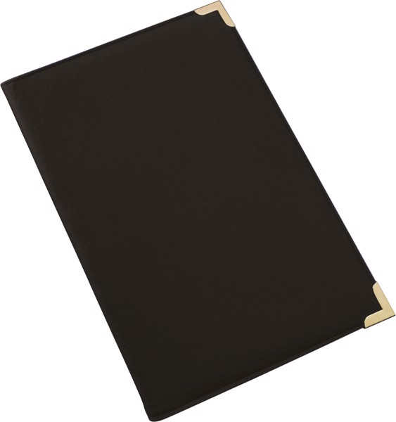 PU folder - Black