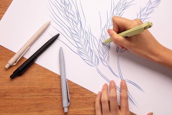 Búzaszár toll - Fehér