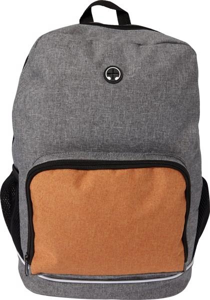 Polycanvas  (300D) backpack - Orange