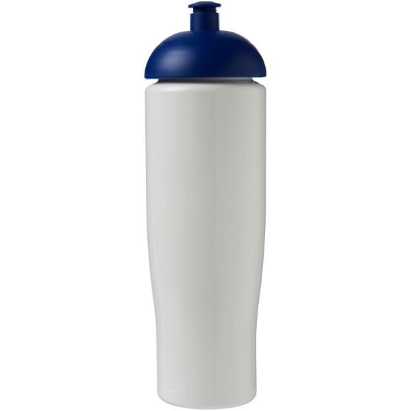 Sportovní láhev s kupolovitým víčkem H2O Tempo® 700 ml - Bílá / Modrá