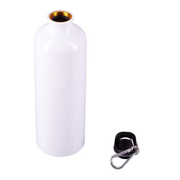 Bidon aluminiowy Easy Tripper 800 ml - Biały