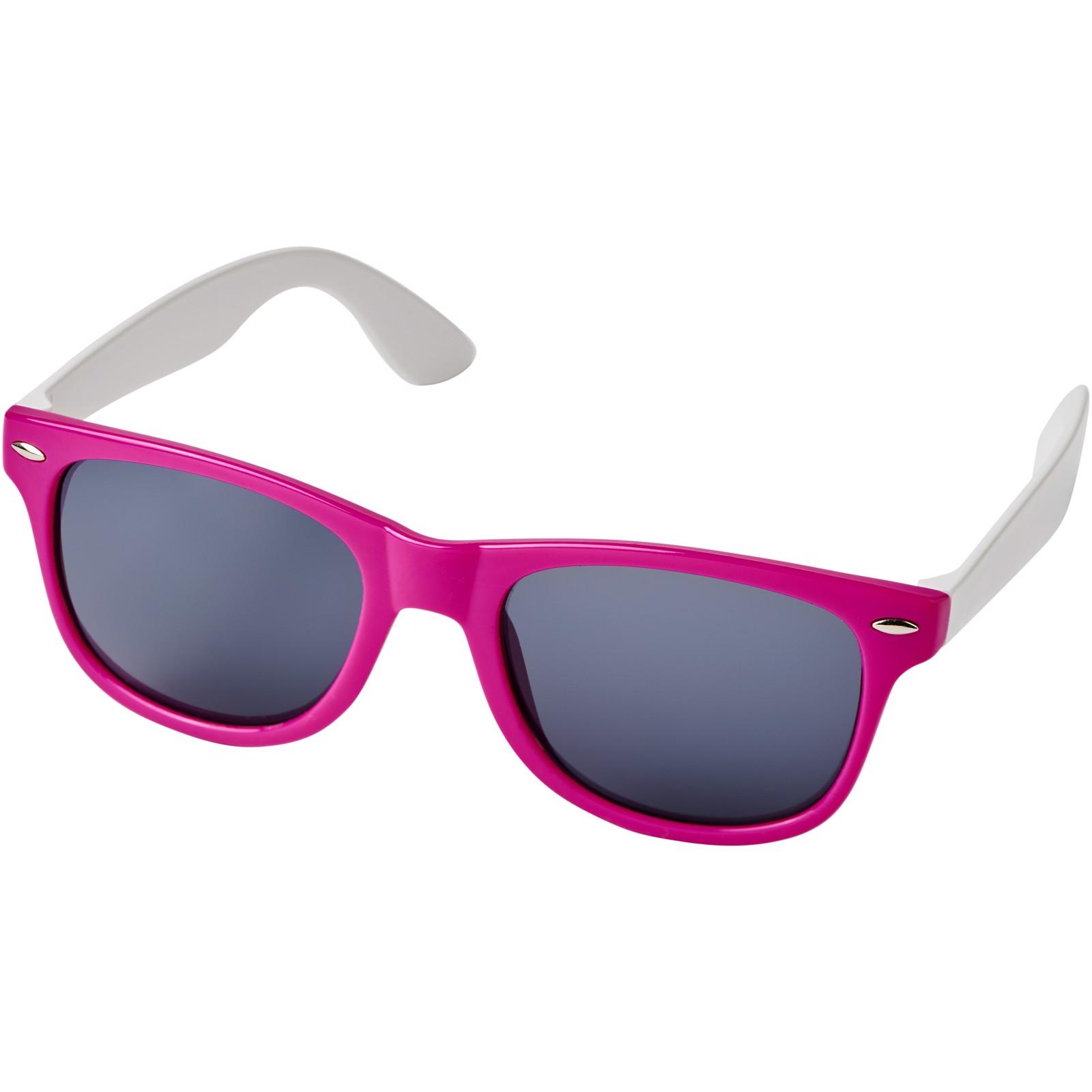 Sun Ray colour block sunglasses - Magenta