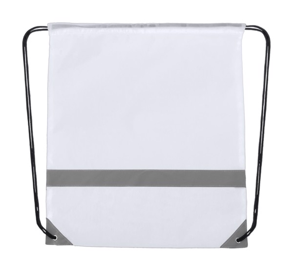 Reflective Drawstring Bag Lemap - White