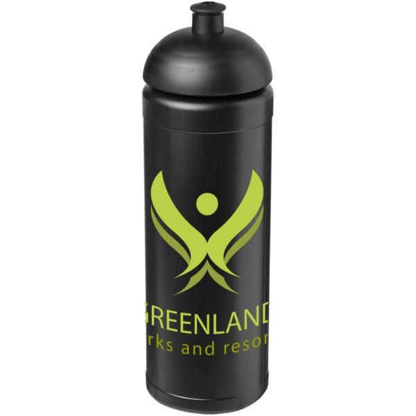 Sportovní láhev s kupolovitým víčkem Baseline® Plus grip 750 ml - Černá
